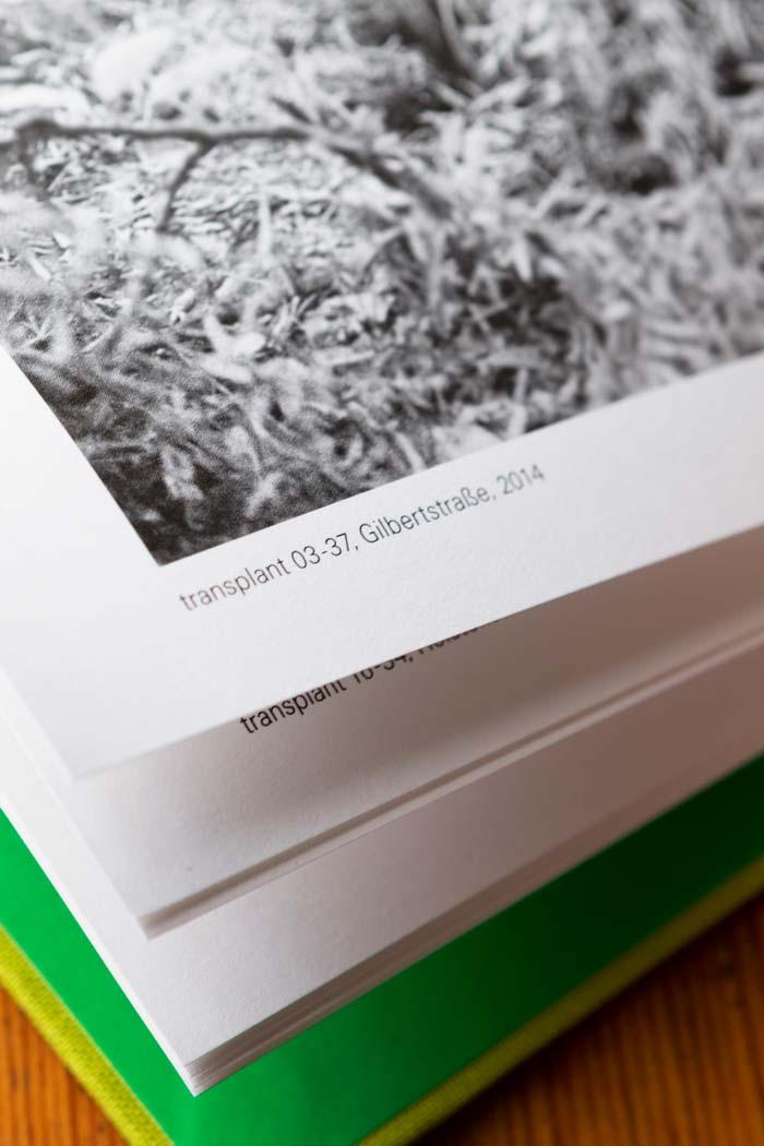 transplants, Künstlerbuch von Marcia Breuer